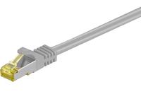 MicroConnect S/FTP CAT7 1m Grey LSZH