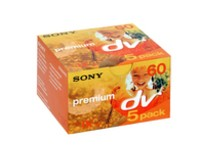 Sony MINI DV CAMERA TAPE 60MIN 5 PK