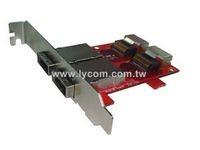 Lycom Dual SFF-8088 to SFF-8087