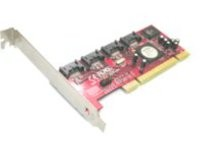 Lycom PCI Raid5 SATA II-3Gbps 4P, LP