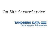Tandberg Data SecureService Onsite 1 year