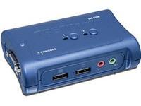 TrendNET 2 Port USB KVM Switch kit