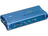 TrendNET 4 PORT PS2 KVM SWITCH KIT