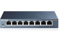 TP-Link 8 port Gigabit Switch, metal