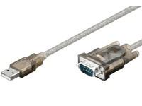 MicroConnect USB A - Serial DB9 M-M, 1,8m