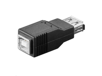 MicroConnect Adapter USB A - B F-F