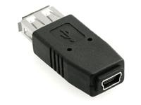 MicroConnect Adapter USB A-B 5pin mini F-F