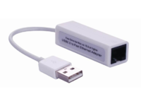 MicroConnect USB2.0 to Ethernet, White