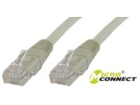 MicroConnect F/UTP CAT6 0.25m Grey PVC