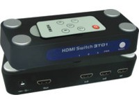 MicroConnect HDMI 1.3 Switch 3 to 1 1.3a