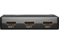 MicroConnect HDMI Switch box, 3 In/1 Out