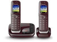 Panasonic DECT telephone, Caller ID Red