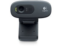 Logitech Webcam HD C270 Black
