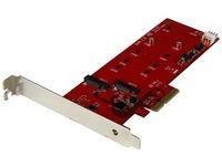 StarTech.com 2X M.2 SSD CONTROLLER - PCIE