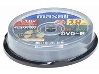 Maxell Dvd-r 4,7gb video 16x