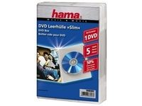 Hama DVD-Box Slim Transparent