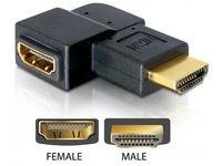 Delock HDMI A->A 90? right-Ang. ma/fe