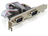 Delock I/O PCI Express > 2xSerial LP