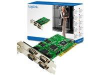 LogiLink I/OPCI Seriell  4x