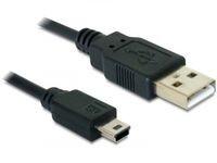Delock USB 2.0-A / USB mini-B 5pin
