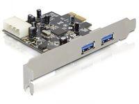 Delock 2 x USB 3.0, PCI express
