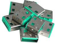 Lindy USB Port Blocker Green 10pcs