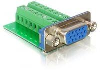 Delock VGA F. >Terminal Block 16pin