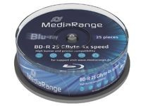MediaRange 25GB 25pcs BD-R Spi