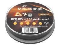 MediaRange DVD-RW Disc 4x 4,7GB (10)