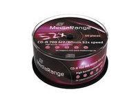 MediaRange CD-R 700MB 52x SP(50)