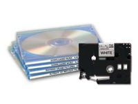 Brother Tape Black on White 3.5mm