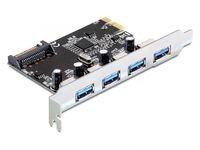Delock PCI Expr Card Delock 4x USB3.0