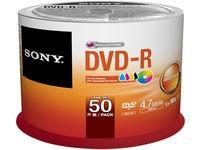 Sony DVD-R x 50 - 4.7 GB Spindle