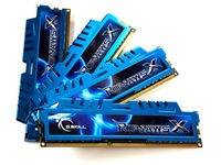 G.Skill RipjawsX 16GB(4x4)DDR3-2400MHz