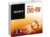 Sony 1x5 DVD-RW 4,7GB 1-2x