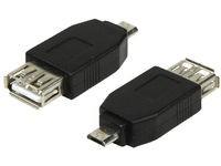 LogiLink USB A + micro B 0.48