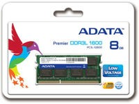 ADATA 8GB DDR3L SO DIMM 1600 512x8