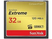 Sandisk CF Extreme 32GB 120MB/s UDMA7