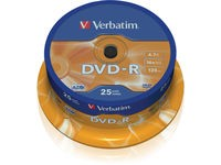 Verbatim DVD-R, General, 16X, 4.7GB