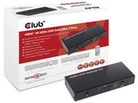 Club3D HDMI 2.0 UHD SwitchBox 4 Ports
