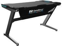 Sandberg Fighter Gaming Desk, Grey