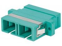Intellinet Multimode OM3 SC Duplex Adapto