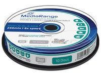 MediaRange DVD+R MediaRange 8.5GB  10pcs