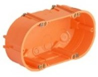 Neets 2-gang Mounting box
