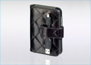 Freecom Black Leather Luxury Case