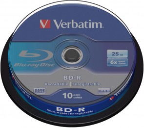 Verbatim BD-R Single Layer 25GB 6X