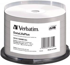 Verbatim Proff Wide Printable 52X 700MB