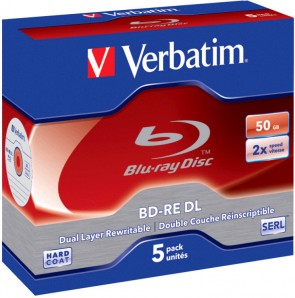Verbatim BD-RE Double Layer 50GB 2X