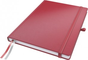 Leitz Notepad Complete A4 Ruled.Red