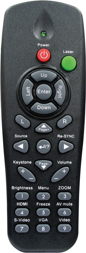 Optoma Remote Ctrl for EX612/531/536